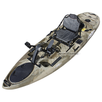 Siren Pedal Kayak New Zealand Flathead Camo